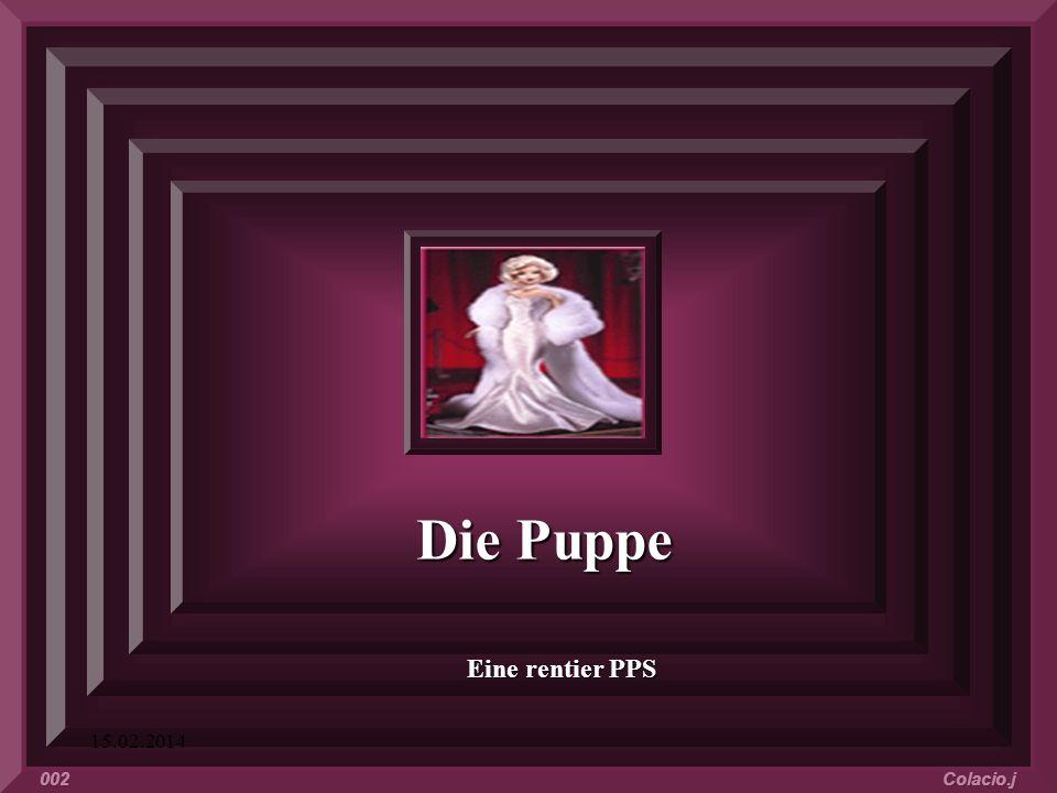 Die Puppe Eine rentier PPS 28.03.2017 002 Colacio.j