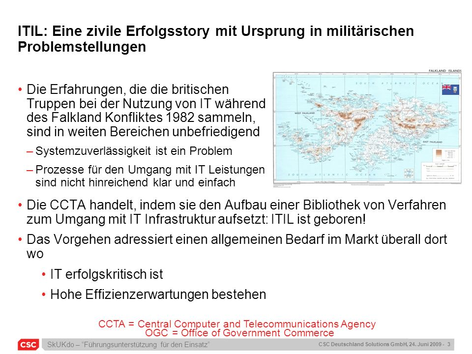 ITIL: Eine zivile Erfolgsstory mit Ursprung in militärischen Problemstellungen
