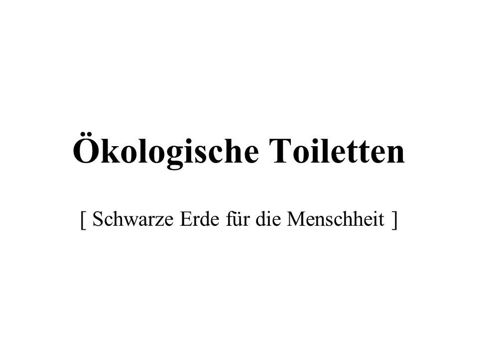 Ökologische Toiletten