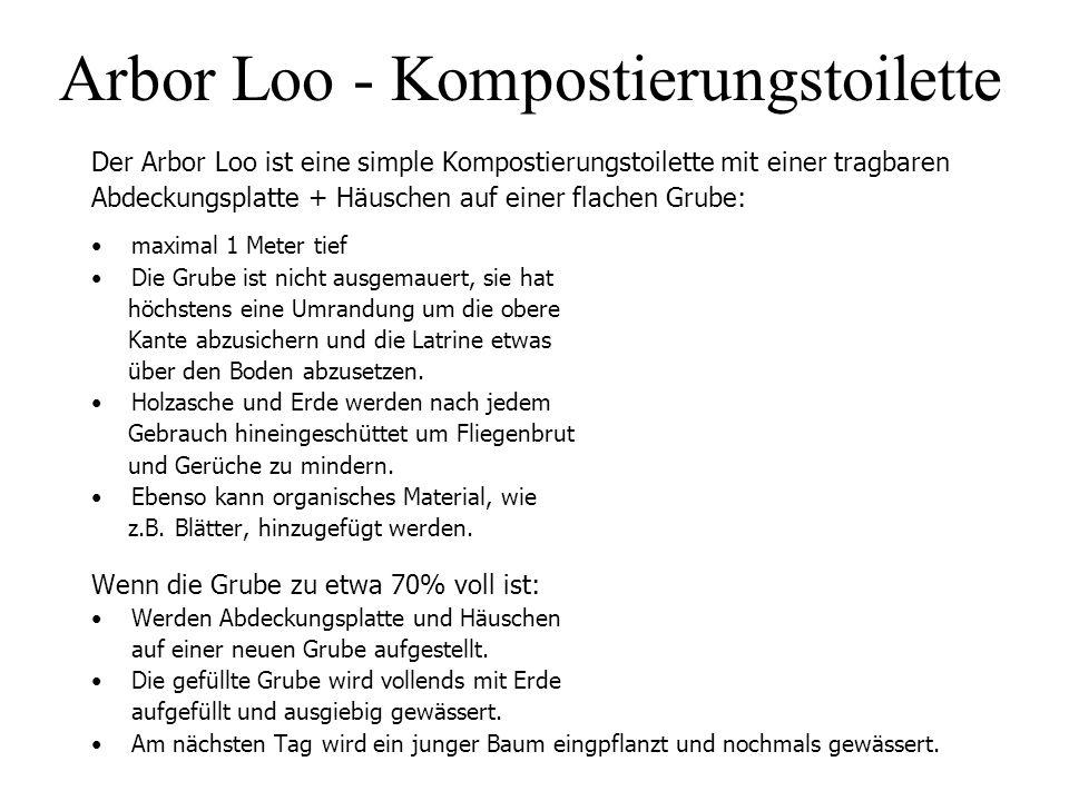 Arbor Loo - Kompostierungstoilette