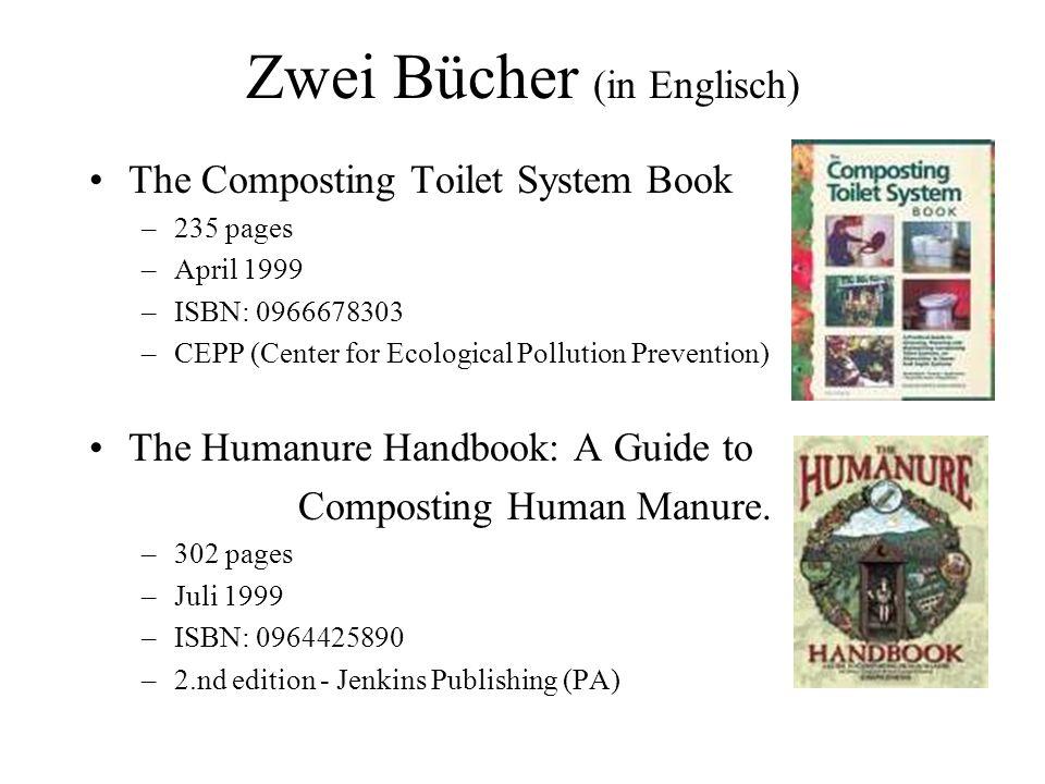Zwei Bücher (in Englisch)