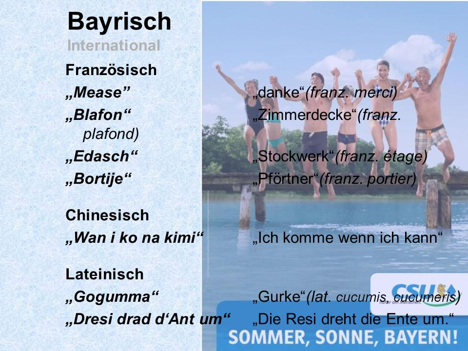 Bayrisch International