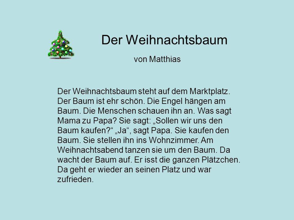 Der Weihnachtsbaum von Matthias
