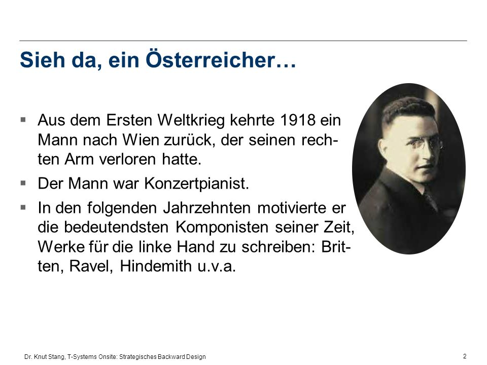 Sieh da, ein Österreicher…