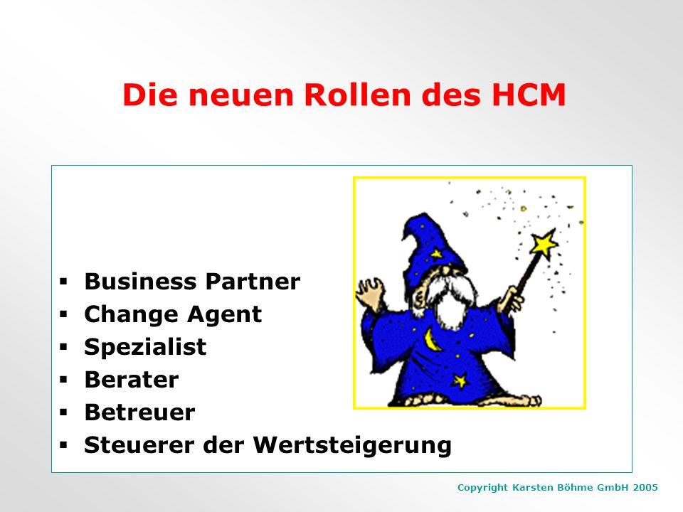 Die neuen Rollen des HCM