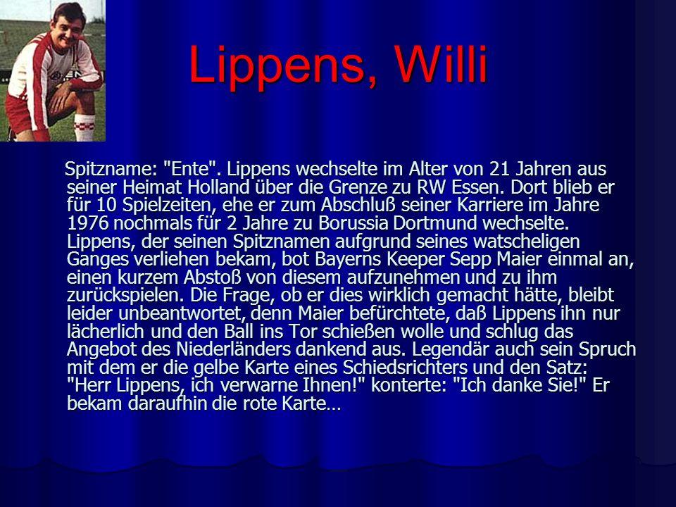Lippens, Willi