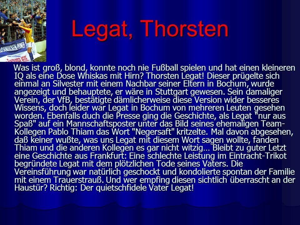 Legat, Thorsten