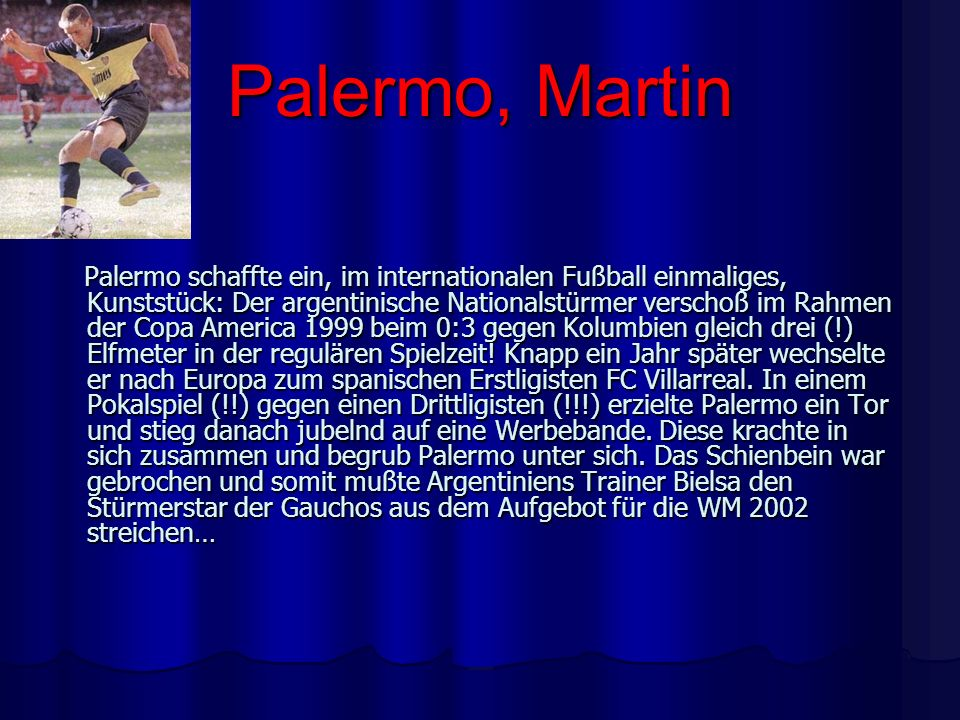 Palermo, Martin