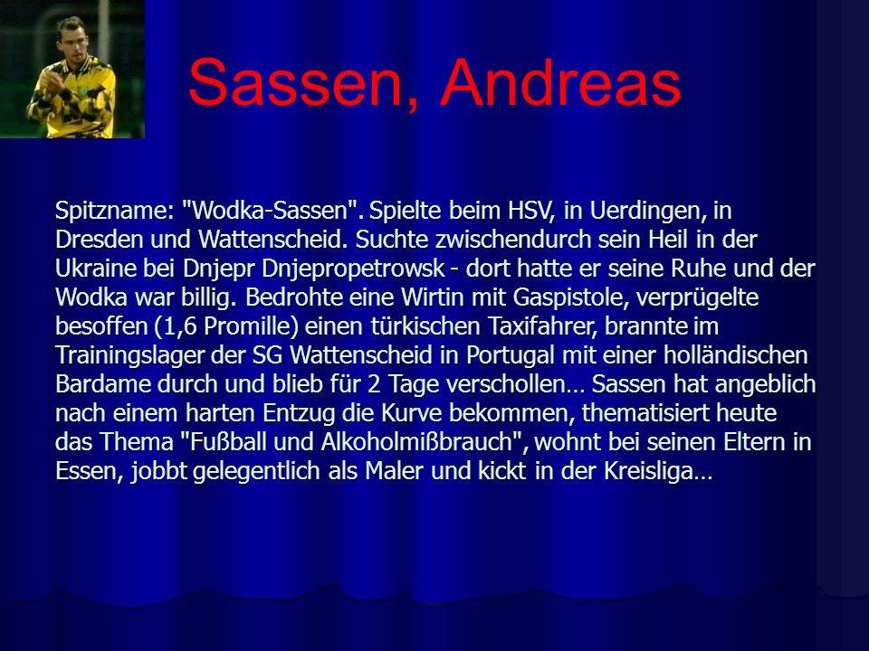 Sassen, Andreas