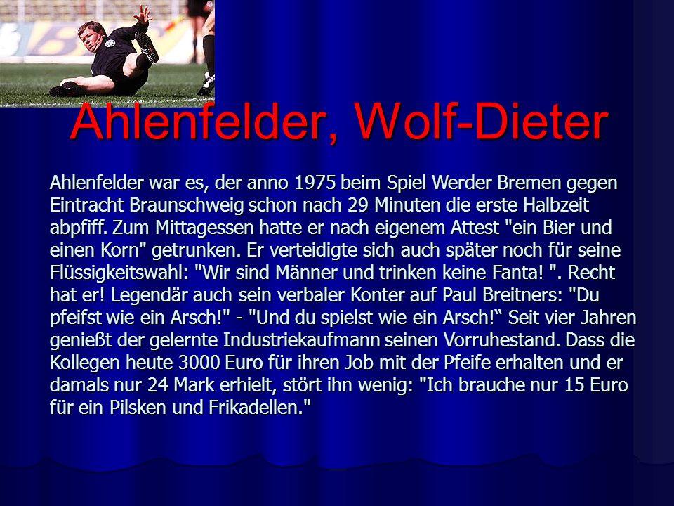 Ahlenfelder, Wolf-Dieter
