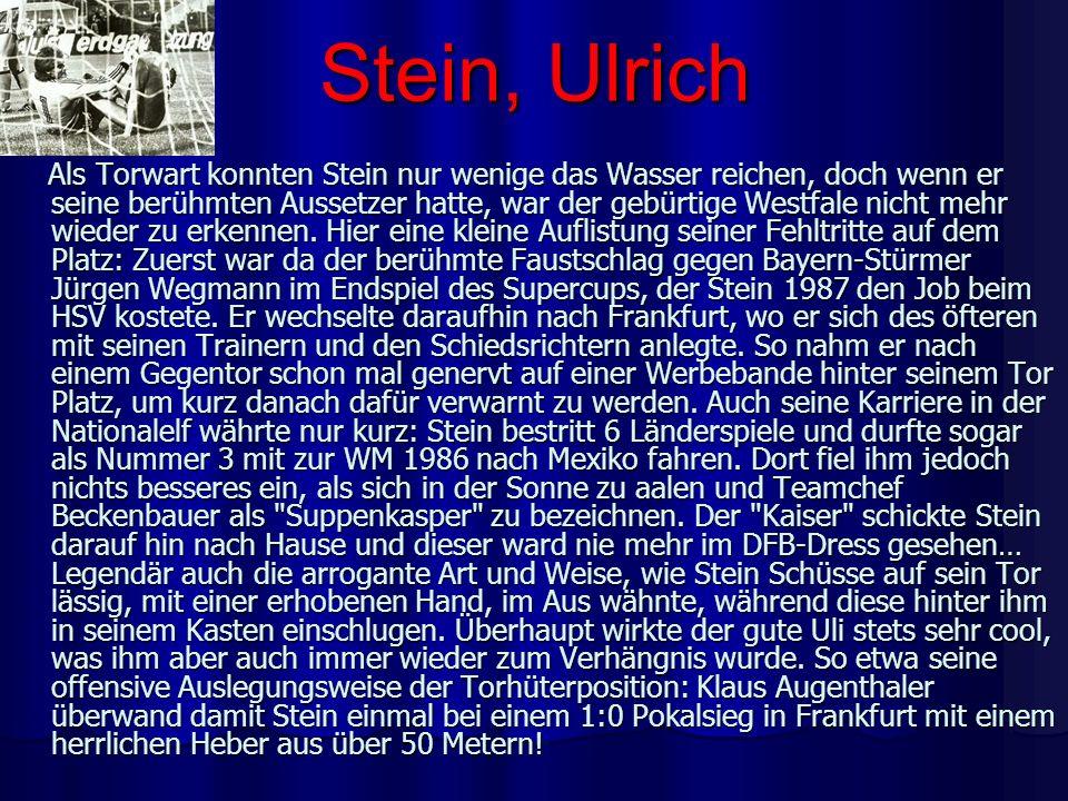 Stein, Ulrich