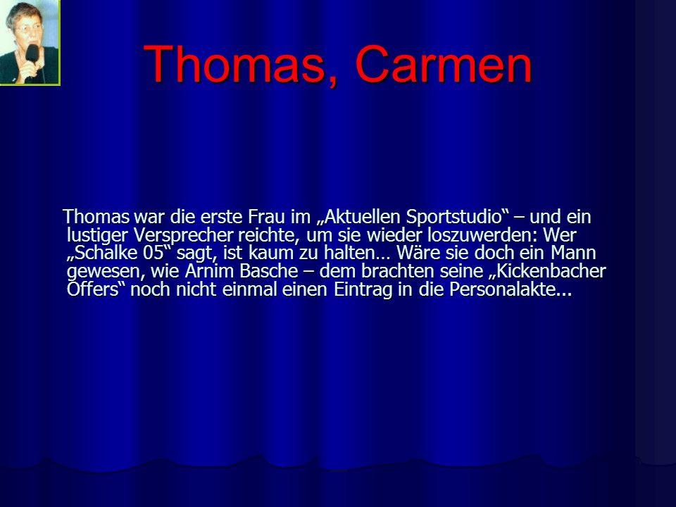 Thomas, Carmen