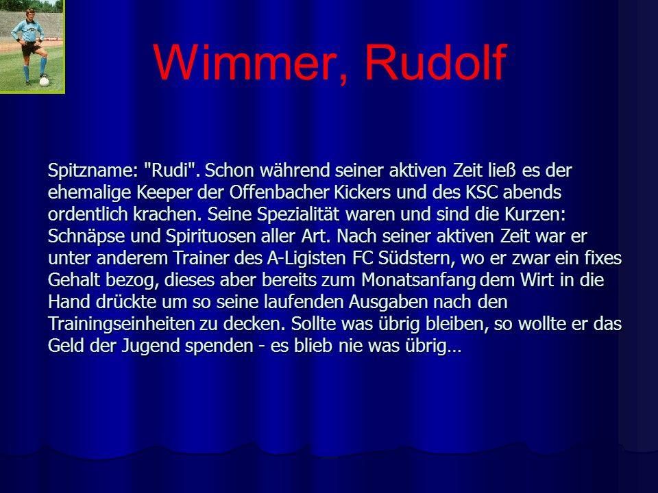 Wimmer, Rudolf