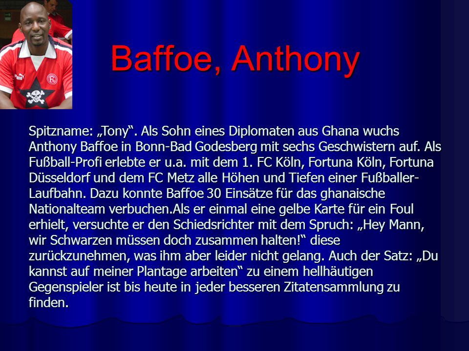 Baffoe, Anthony