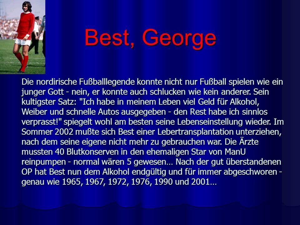 Best, George