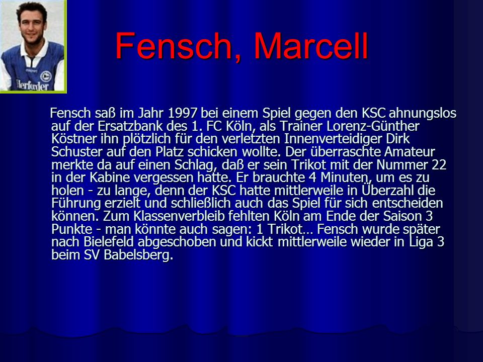 Fensch, Marcell