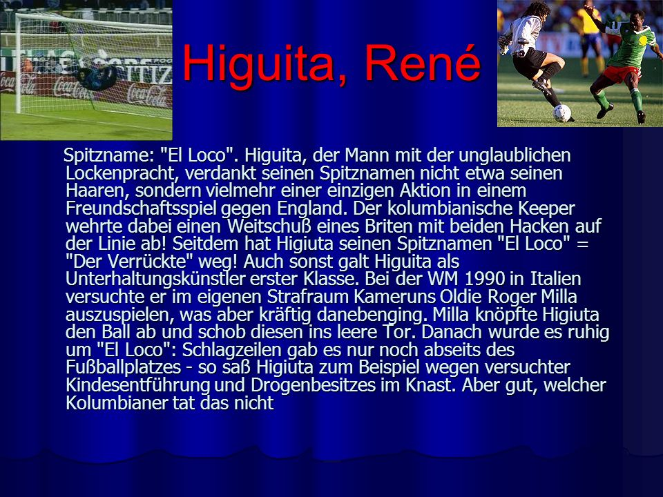 Higuita, René