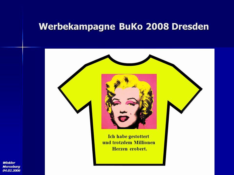 Werbekampagne BuKo 2008 Dresden