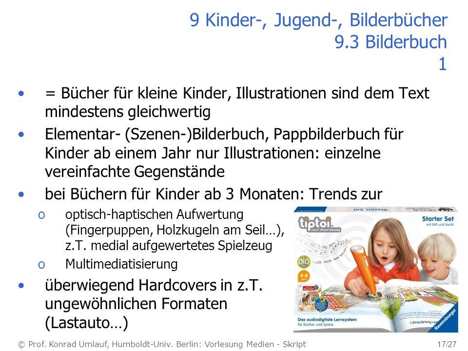 9 Kinder-, Jugend-, Bilderbücher 9.3 Bilderbuch 1