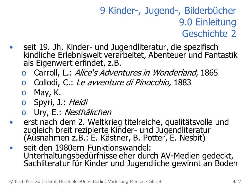 9 Kinder-, Jugend-, Bilderbücher 9.0 Einleitung Geschichte 2