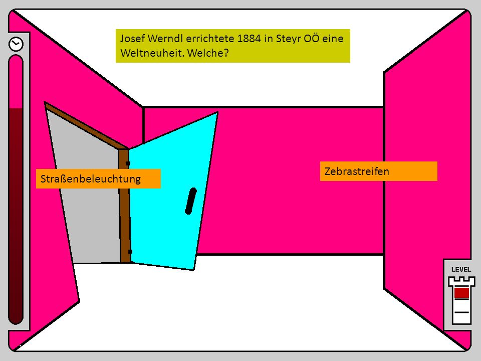 Josef Werndl errichtete 1884 in Steyr OÖ eine Weltneuheit. Welche