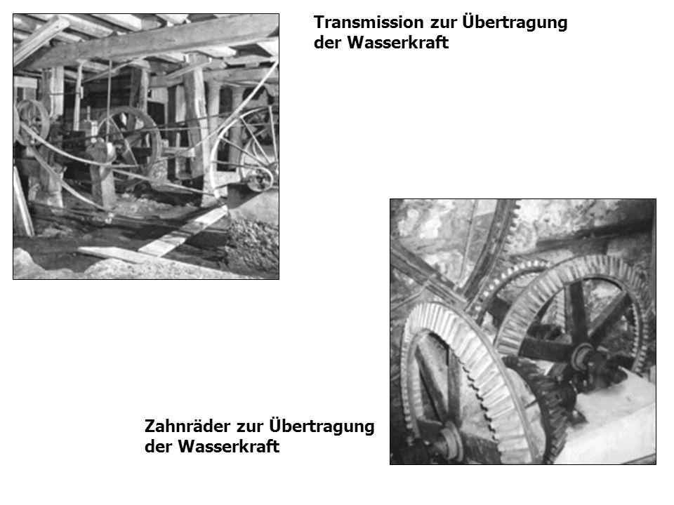 Transmission zur Übertragung