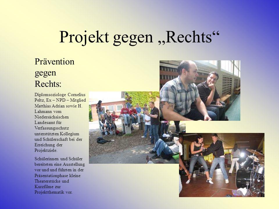 """Projekt gegen """"Rechts"""