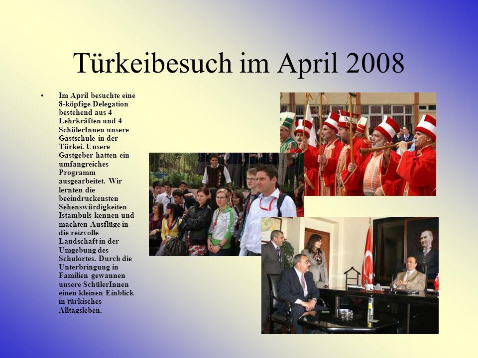Türkeibesuch im April 2008
