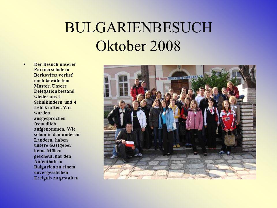 BULGARIENBESUCH Oktober 2008