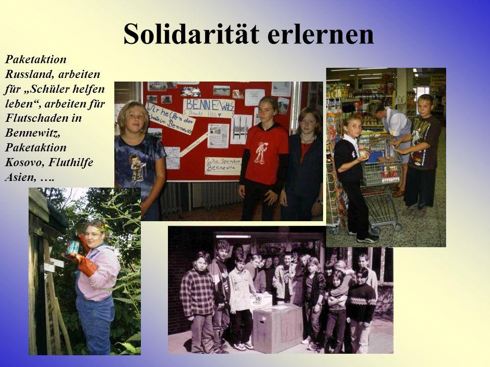 Solidarität erlernen