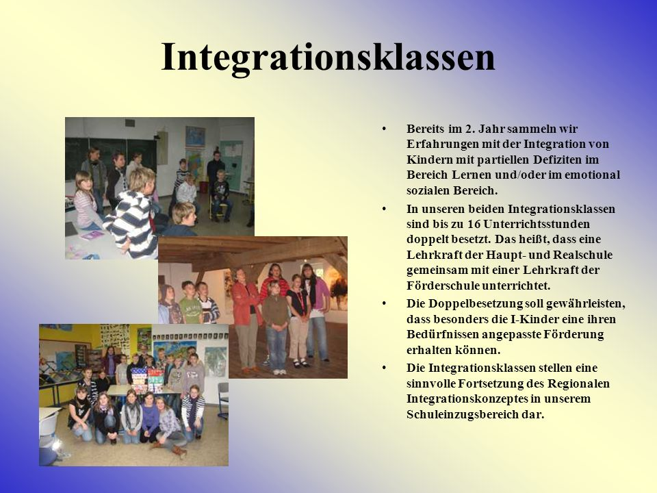 Integrationsklassen