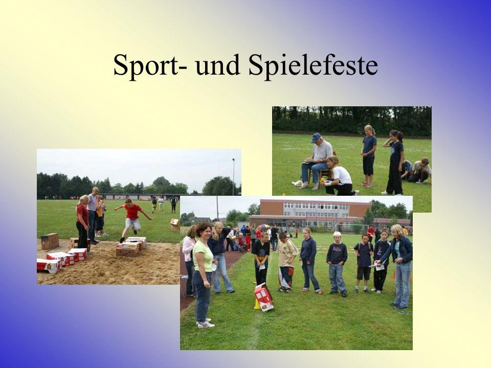 Sport- und Spielefeste