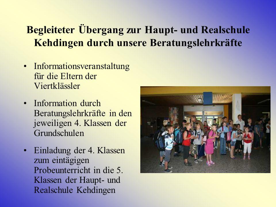 Begleiteter Übergang zur Haupt- und Realschule Kehdingen durch unsere Beratungslehrkräfte