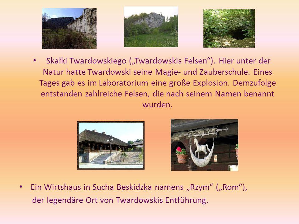 "Skałki Twardowskiego (""Twardowskis Felsen )"