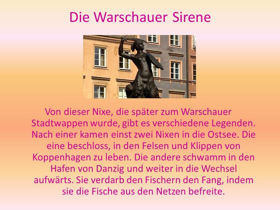 Die Warschauer Sirene