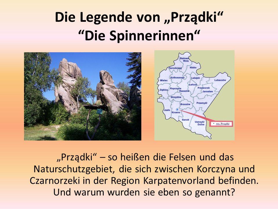 """Die Legende von """"Prządki Die Spinnerinnen"""