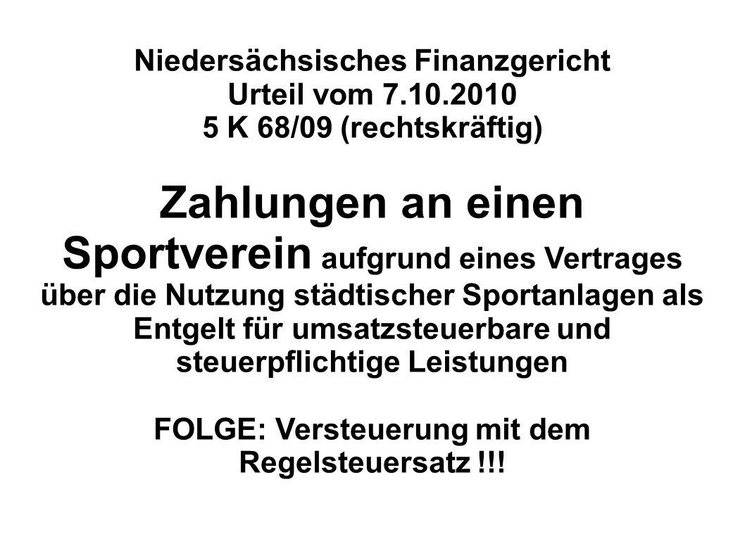 Niedersächsisches Finanzgericht
