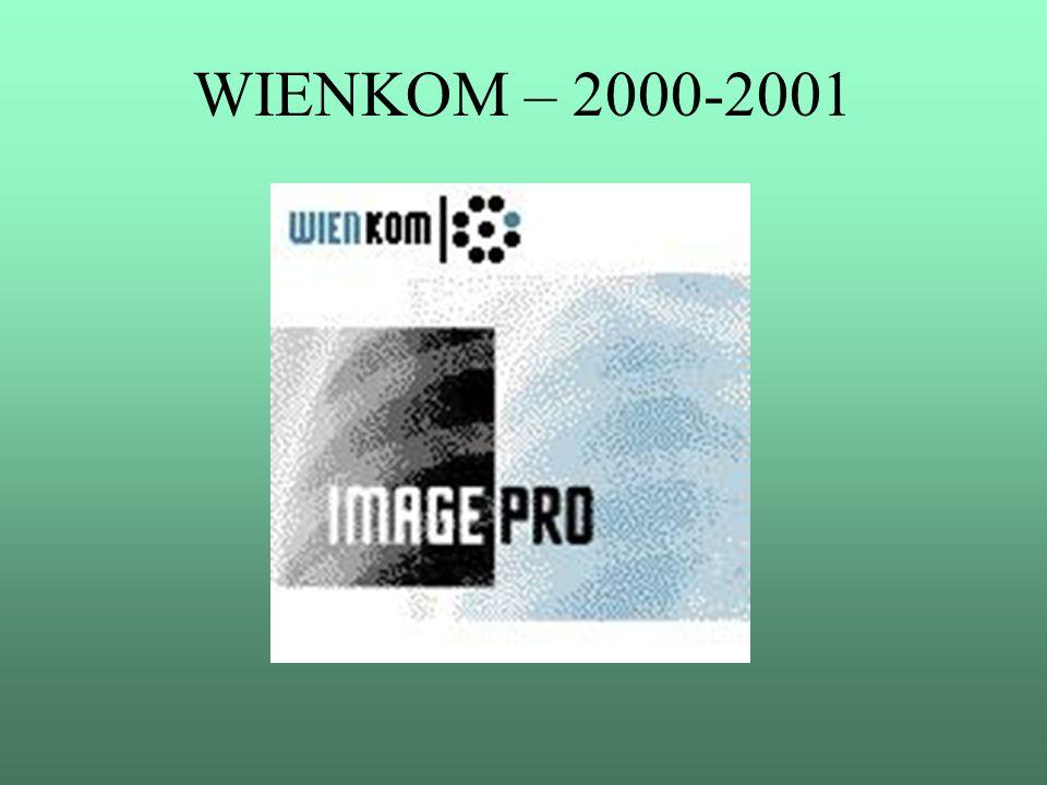 """WIENKOM – 2000-2001 Im Oktober 2001 startete im AKH das Projekt """"Migration SAP R/2 nach SAP R/3"""
