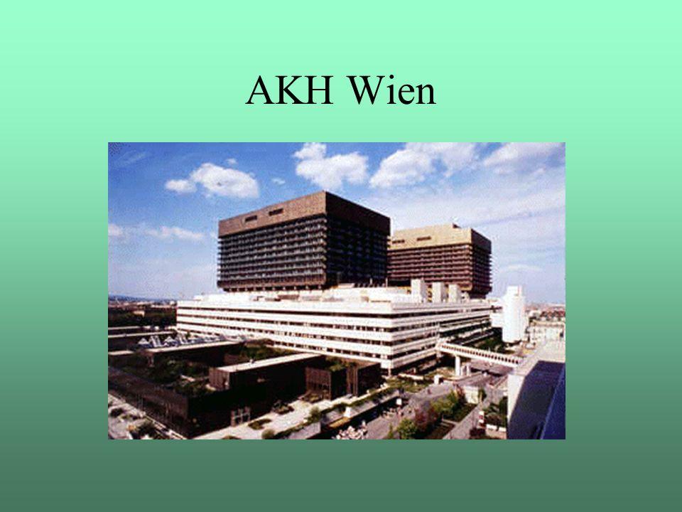 """AKH Wien Im Oktober 2001 startete im AKH das Projekt """"Migration SAP R/2 nach SAP R/3"""