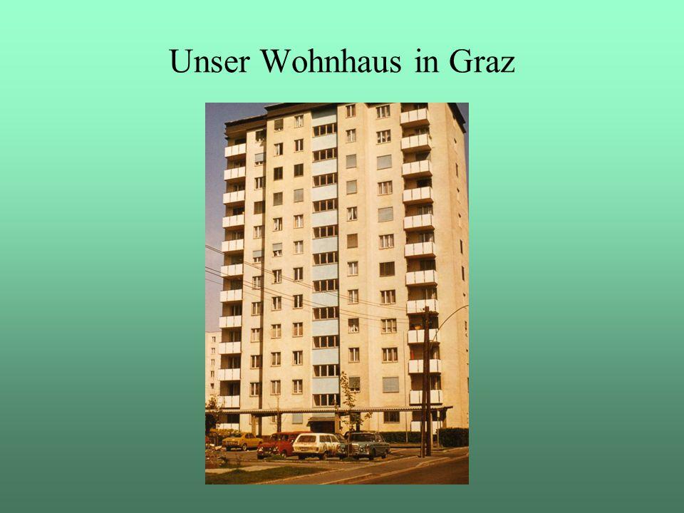 Unser Wohnhaus in Graz