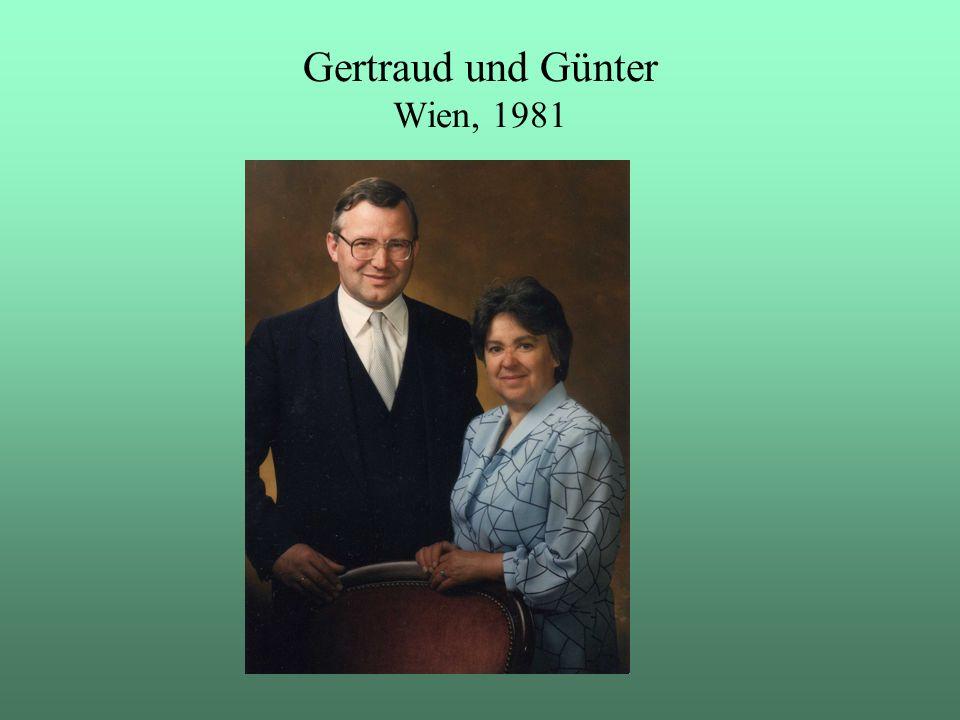 Gertraud und Günter Wien, 1981
