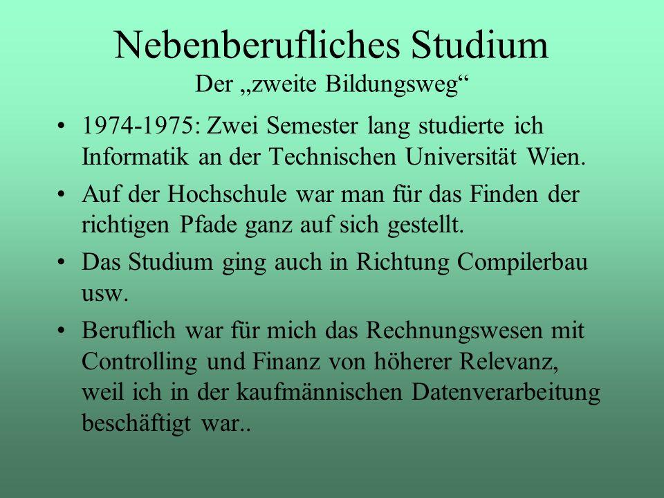 """Nebenberufliches Studium Der """"zweite Bildungsweg"""