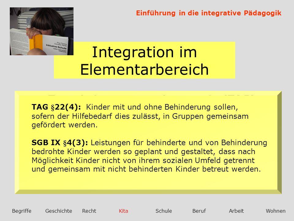 Integration im Elementarbereich