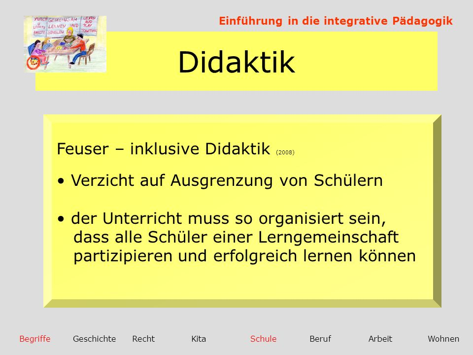 Didaktik Didaktik – was ist das Feuser – inklusive Didaktik (2008)