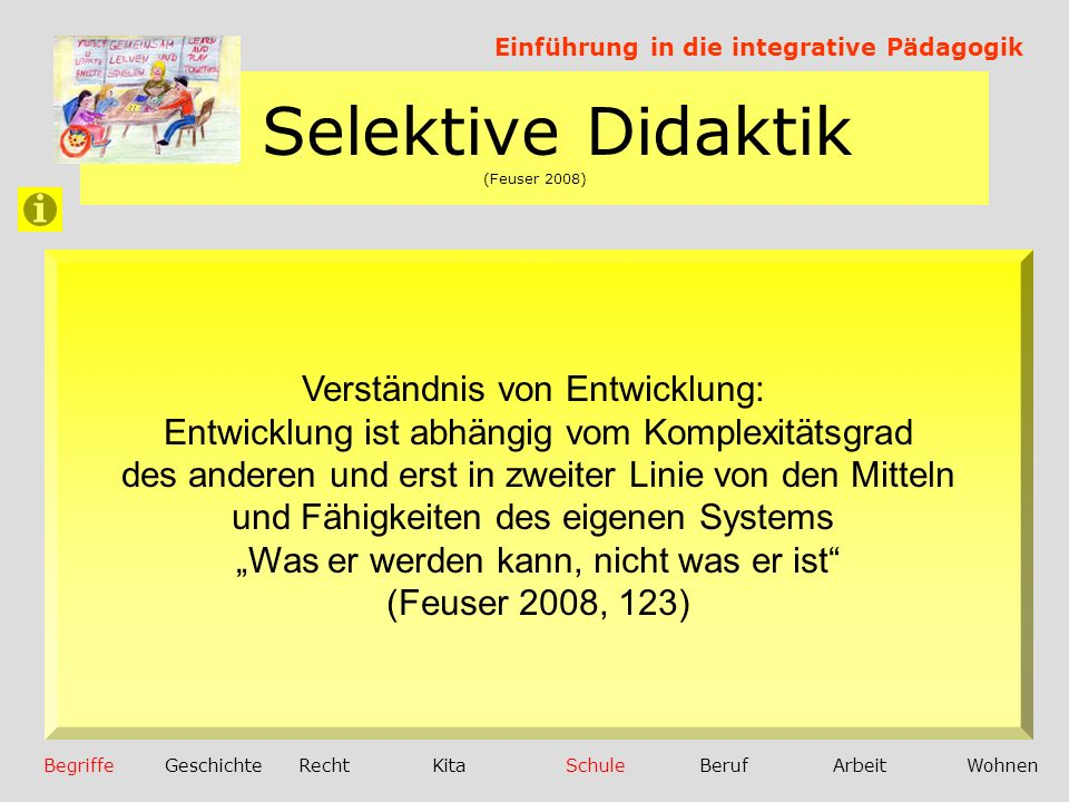 Selektive Didaktik (Feuser 2008)
