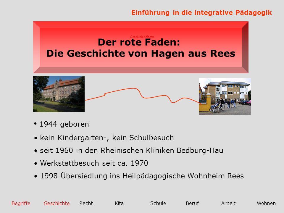Die Geschichte von Hagen aus Rees