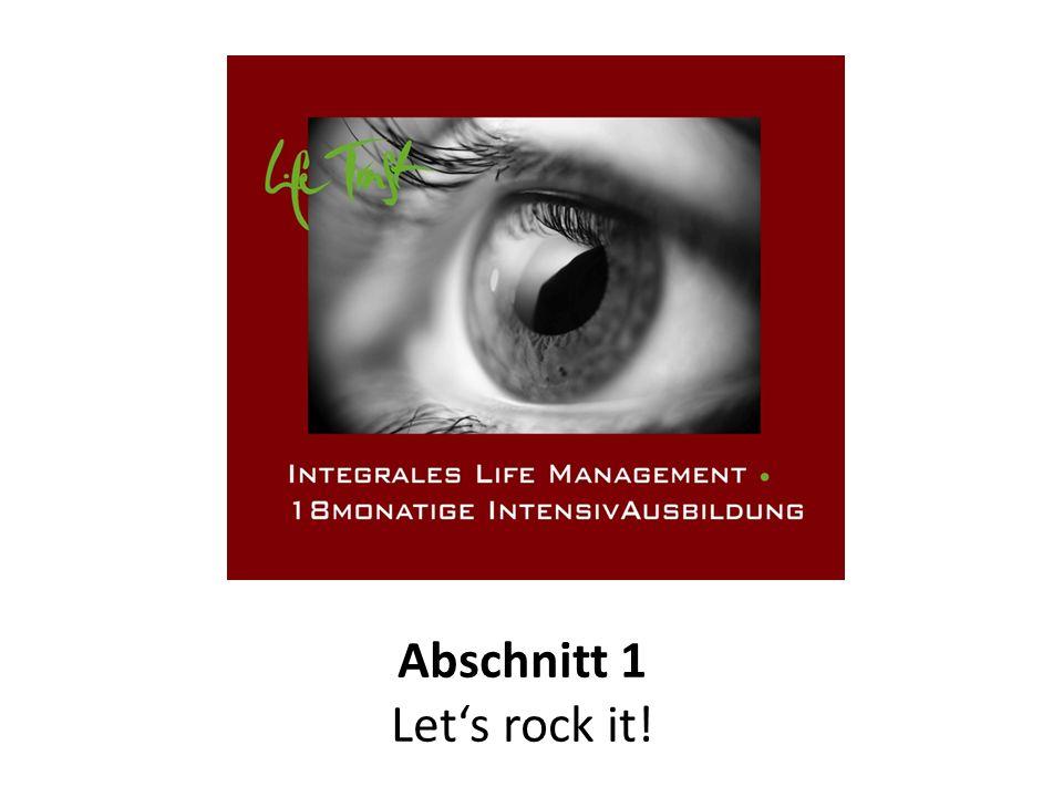 Abschnitt 1 Let's rock it!