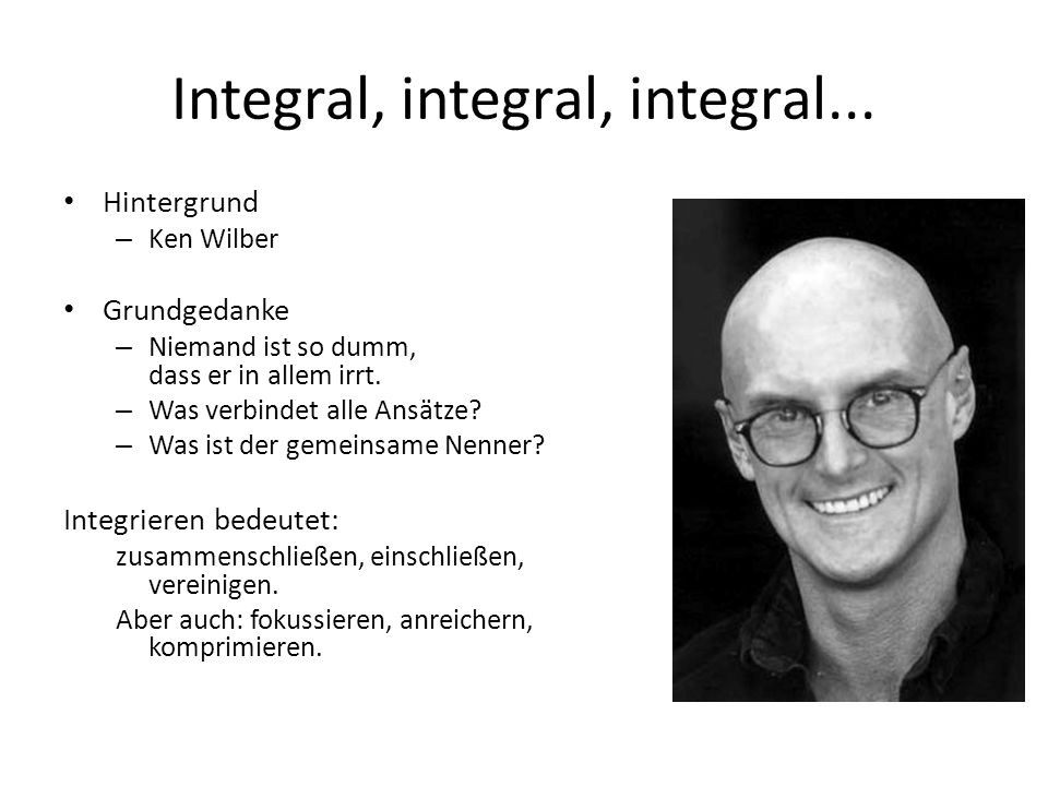 Integral, integral, integral...