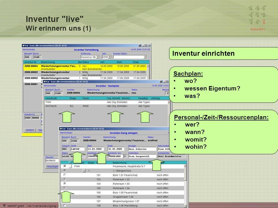 Inventur live Wir erinnern uns (1)