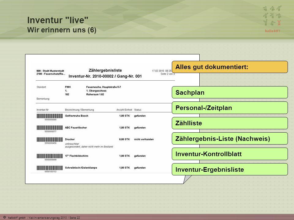 Inventur live Wir erinnern uns (6)